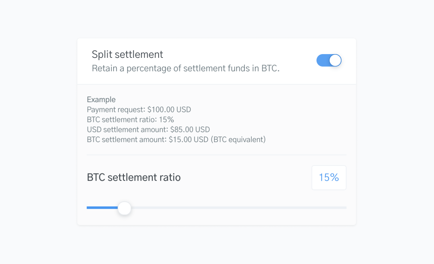 OpenNode settlement payments dashboard