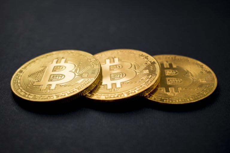 Three Bitcoin Coins