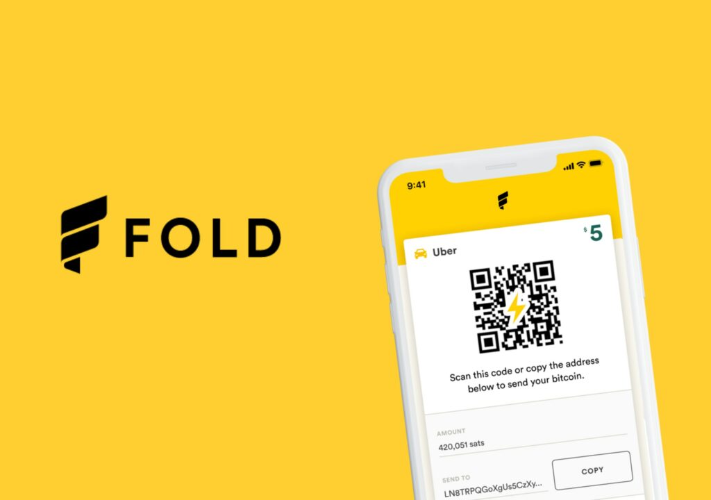 Image of the Fold app logo with a phone displaying the fold application.
